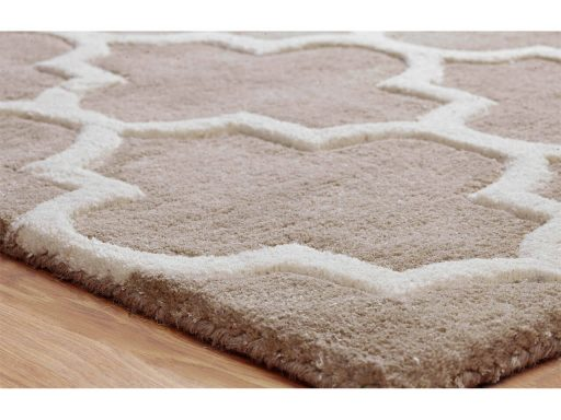 Arabesque Beige Rug 10 Detail
