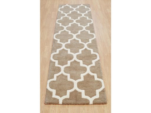 Arabesque Beige Rug 21 Runner