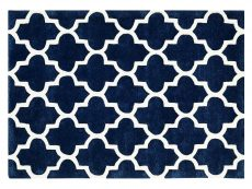 Arabesque Blue Rug 01 Overhead