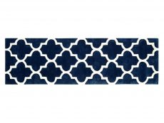 Arabesque Blue Rug 20 Runner