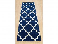 Arabesque Blue Rug 21 Runner