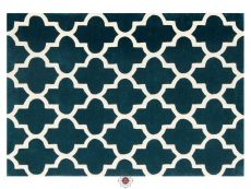 Arabesque Emerald Rug 01 Overhead