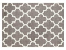 Arabesque Grey Rug 01 Overhead