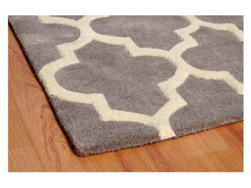 Arabesque Grey Rug 10 Detail