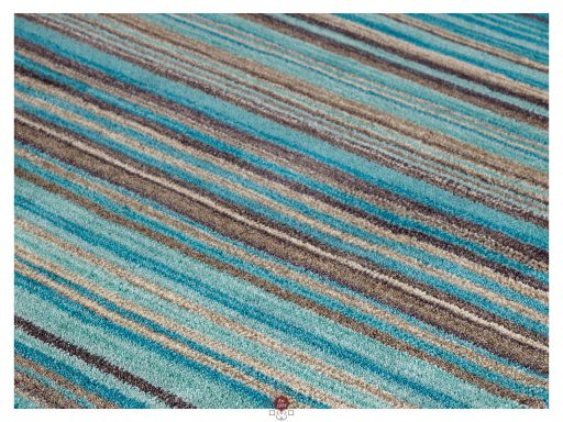 Carter Teal Rug 11 Detail