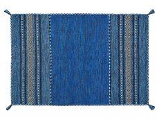 Kelim Blue Rug 01 Overhead