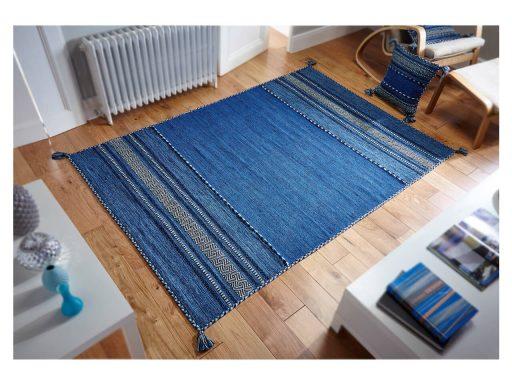 Kelim Blue Rug 02 Roomshot
