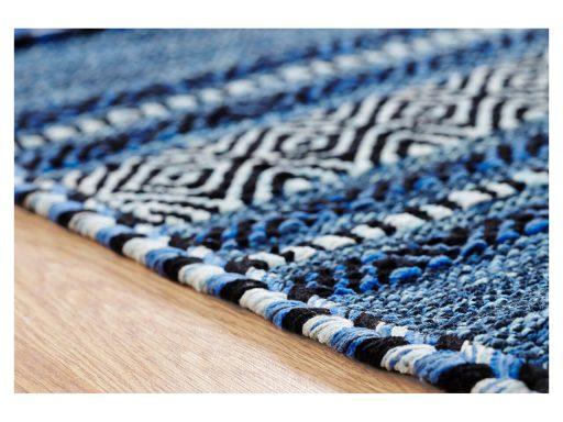 Kelim Blue Rug 10 Detail