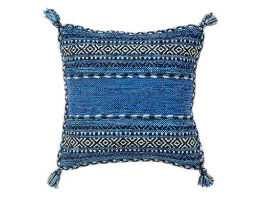 Kelim Blue Rug 61 Cushion