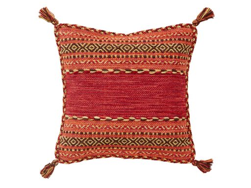 Kelim Red Rug 61 Cushion