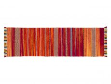 Kelim Stripe Red Rug 20 Runner