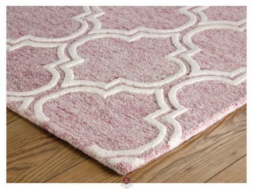 Medina Pink Rug 10 Detail