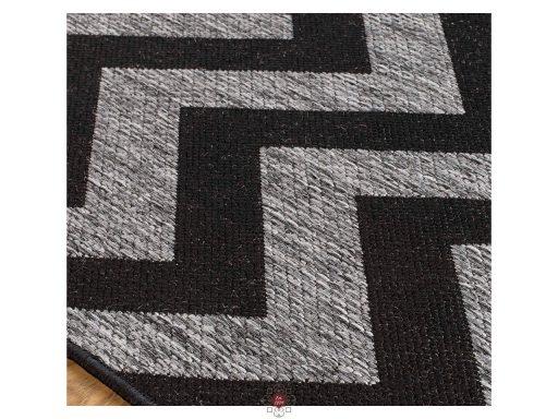 Moda Chevron Black Rugs 11 Detail