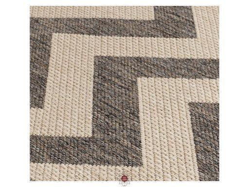 Moda Chevron Grey Rugs 11 Detail