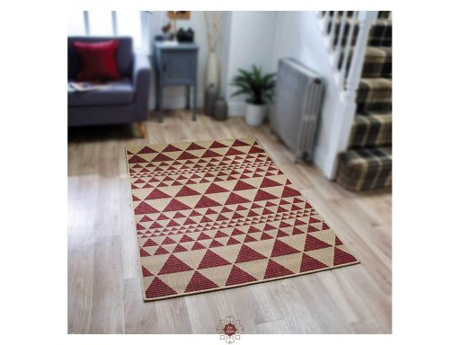Moda Prism Red Rugs 02 Roomshot