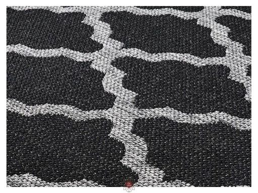 Moda Trellis Black Rugs 11 Detail