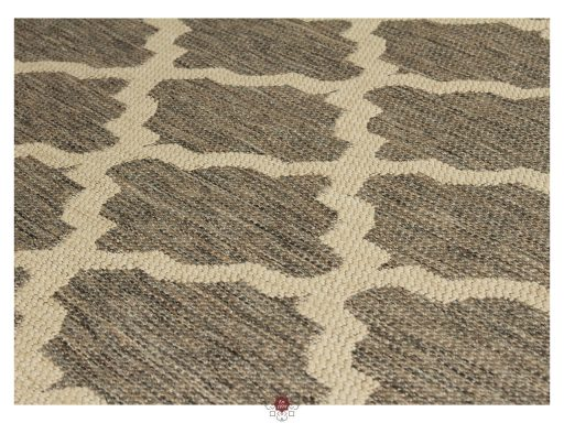 Moda Trellis Grey Rugs 11 Detail