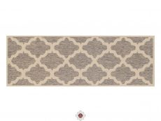 Moda Trellis Grey Rugs 20 Runner