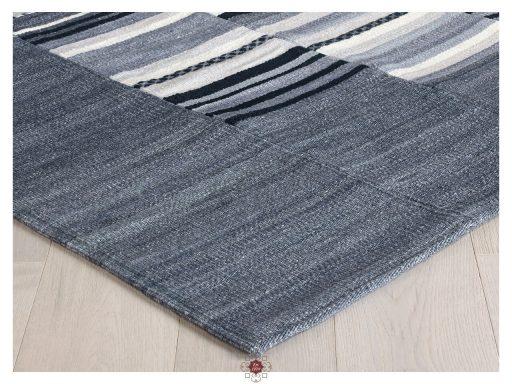 Navajo Stripe Grey Rugs 10 Detail