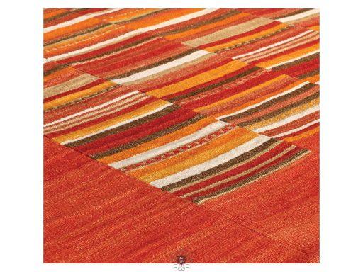 Navajo Stripe Red Rugs 11 Detail