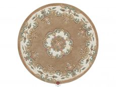 Royal Beige Rug 30 Circle