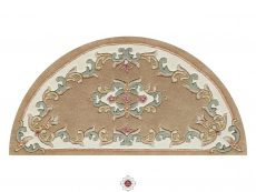 Royal Beige Rug 50 Half Moon