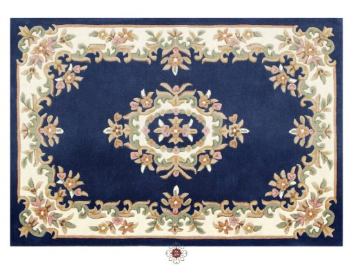 Royal Blue Rug 01 Overhead