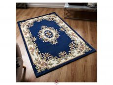 Royal Blue Rug 02 Roomshot