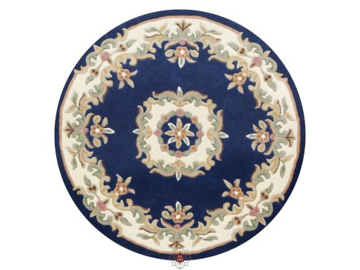 Royal Blue Rug 30 Circle