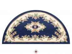Royal Blue Rug 50 Half Moon