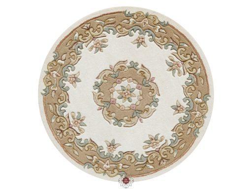 Royal Cream Beige Rug 30 Circle