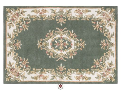 Royal Green Rug 01 Overhead