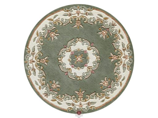 Royal Green Rug 30 Circle