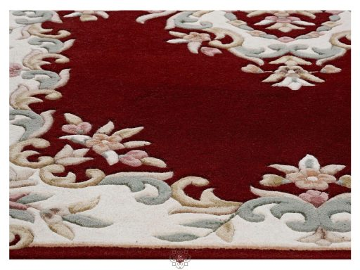 Royal Red Rug 10 Detail