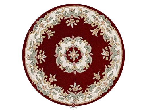 Royal Red Rug 30 Circle