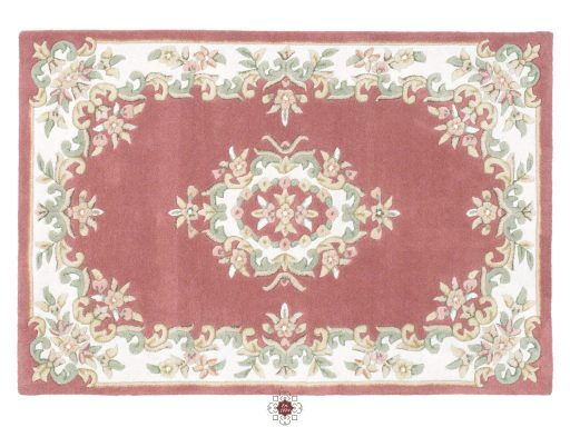 Royal Rose Rug 01 Overhead