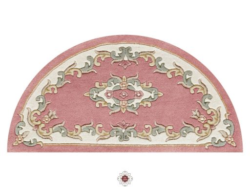 Royal Rose Rug 50 Half Moon