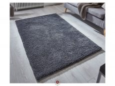 Softness Charcoal Rug 02 Roomshot