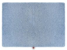 Softness Denim Blue Rug 01 Overhead