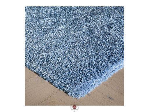 Softness Denim Blue Rug 10 Detail Corner