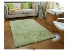 Softness Green Rugs 02 Roomshot
